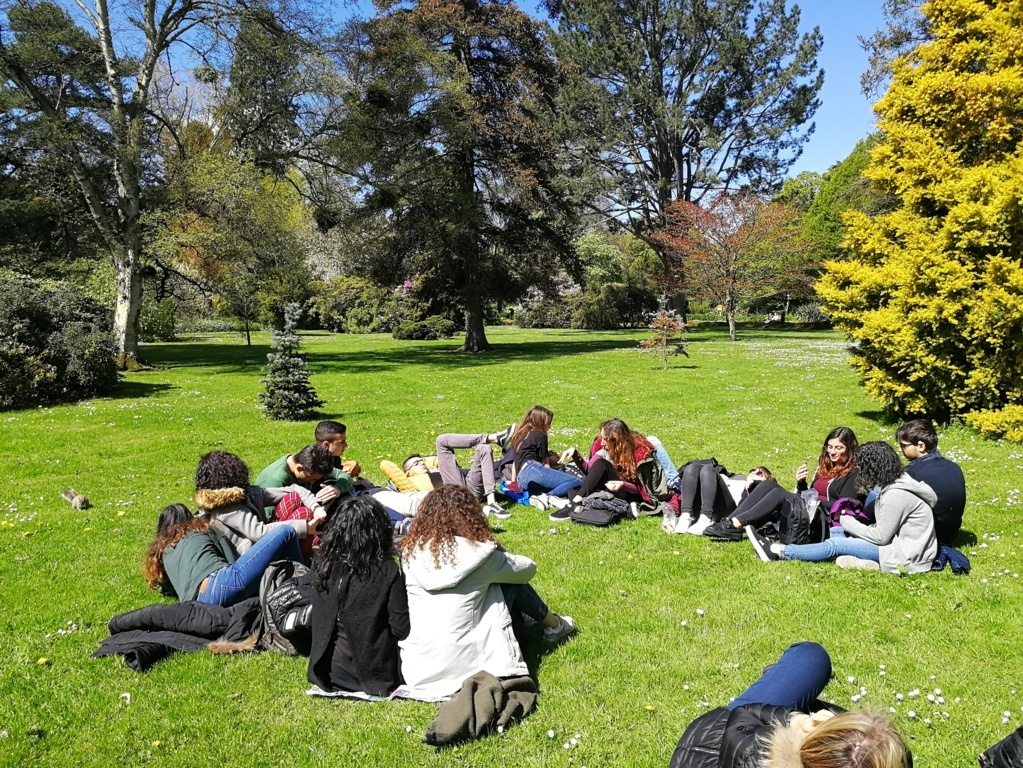 Botanic Gardens - lunch time